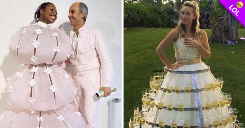 los 13 vestidos de novia más feos del mundo!